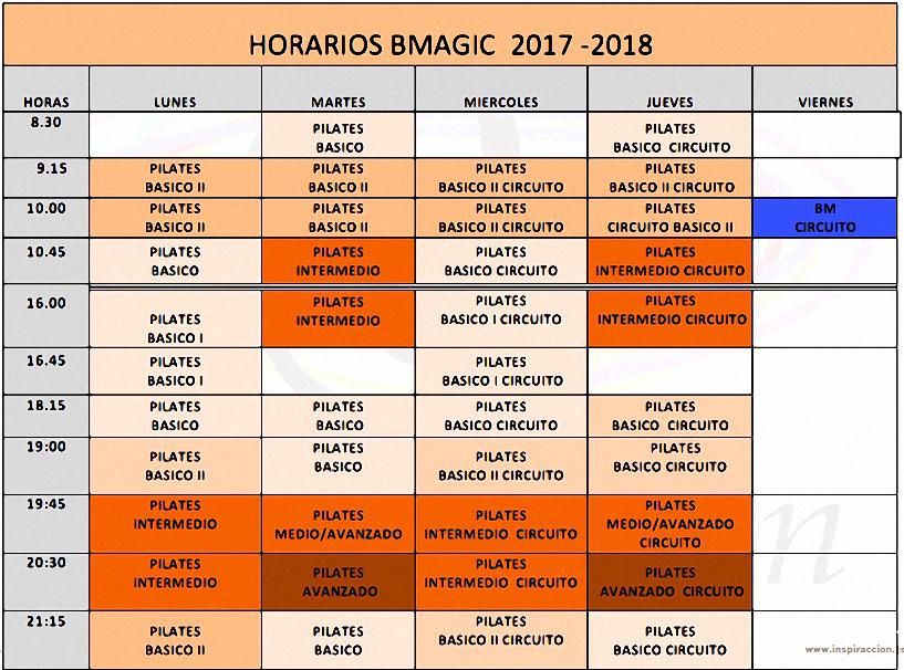 horarios-bmagic-2016-2017
