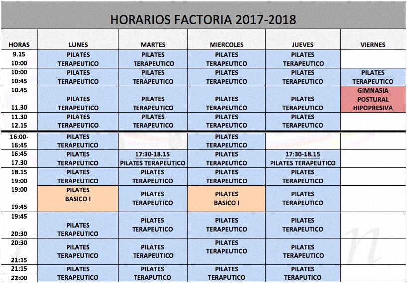horarios-factoria-2016-2017